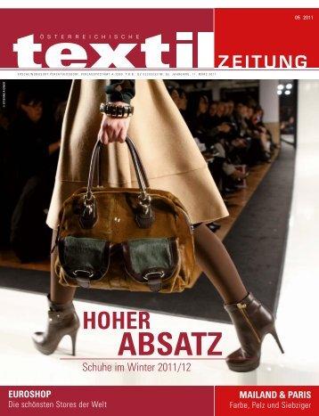 ABSATZ - Österreichische Textil Zeitung