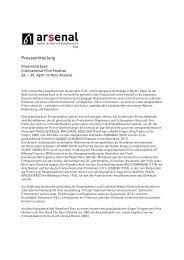 Pressemitteilung - Greenland Eyes | International Film Festival