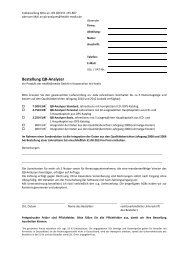 Bestellformular - QB-Analyzer