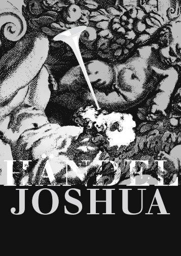 2005: «Joshua», Oratorium in 3 Teilen von Georg Friedrich Händel