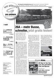 Zeitung 2011/1 März - Die Grünen