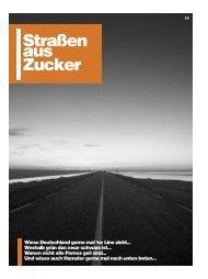 fünfte Ausgabe der - Straßen aus Zucker - Blogsport