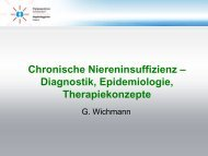 Chronische Niereninsuffizienz - Dialysezentrum Schwandorf