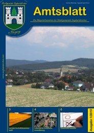 Amtsblatt Nr. 1/2010 - Sieghartskirchen