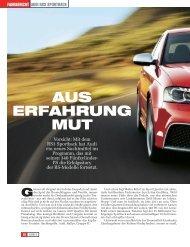 Testbericht lesen - PDF (519 kb) - Audi