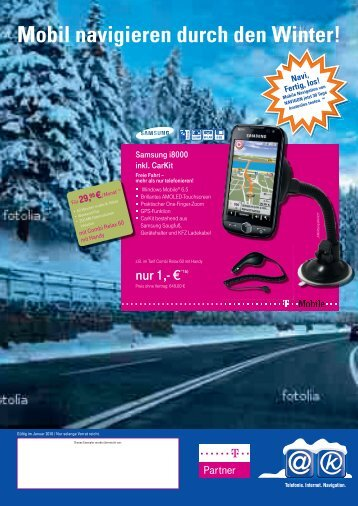 Mobil navigieren durch den Winter! - MS-Electronic