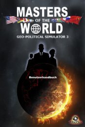 Benutzerhandbuch - Masters Of The World