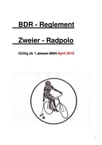 Reglement Radpolo ab 2010 - Radsport-in-niedersachsen.de