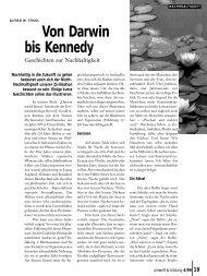 Von Darwin bis Kennedy