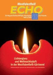 Ausgabe 32 - 04 / 2009 - Westfalenfleiß GmbH