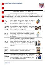 Lernstandserhebungen – Was bedeutet das? - Grundschule Kirchhain