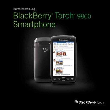 BlackBerry® Torch™ 9860 Smartphone