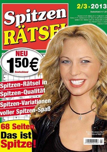 Ganzseitiges Foto - PMV Rätsel-Magazine