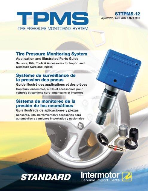 Valve universel TPMS Capteur pression pneu CUB