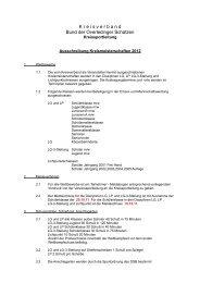 Kreismeisterschaft - 2012- Ausschreibung