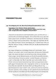 Vereidigung BePo Lahr - Polizei Baden-Württemberg