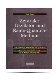Zentraler Oszillator und Raum-Quanten-Medium - Supernova ...