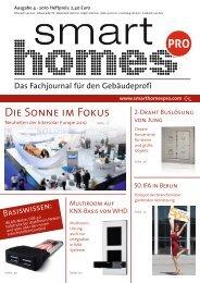 Ausgabe 4 · 2010 - Smart Homes Pro
