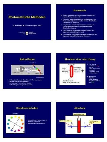 pdf, 236 KB - Institut für Klinische Chemie - UniversitätsSpital Zürich