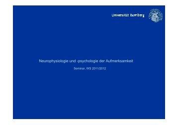 Neurophysiologie und -psychologie der Aufmerksamkeit - X-cog.de