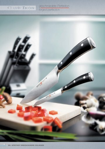 geschmiedete Perfektion forged perfection - Cook's Direct