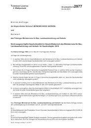5. Wahlperiode Drucksache 5/2977 24.06.2011 Nicht ausgeschöpfte ...