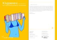 Und nun: KLAPPENTEXT lesen! (PDF) - literatur-muenchen.de