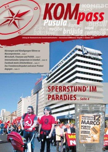 KOMpass – Ausgabe 3 / Sommer 2011 - Kommunistische ...