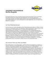 Bauplatte - werit-deutschland.de
