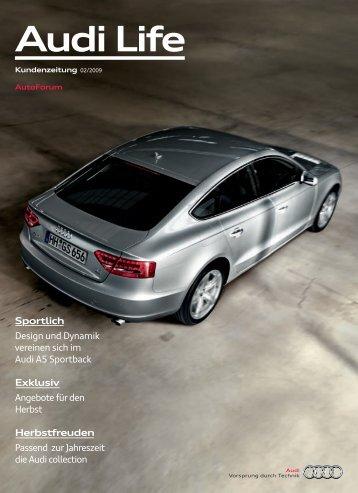 Herbstfreuden - Audi