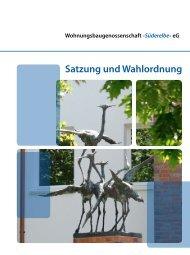 Satzung und Wahlordnung - Wohnungsbaugenossenschaft ...