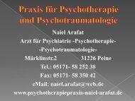 Depression - Praxis für Psychotherapie und Psychotraumatologie ...