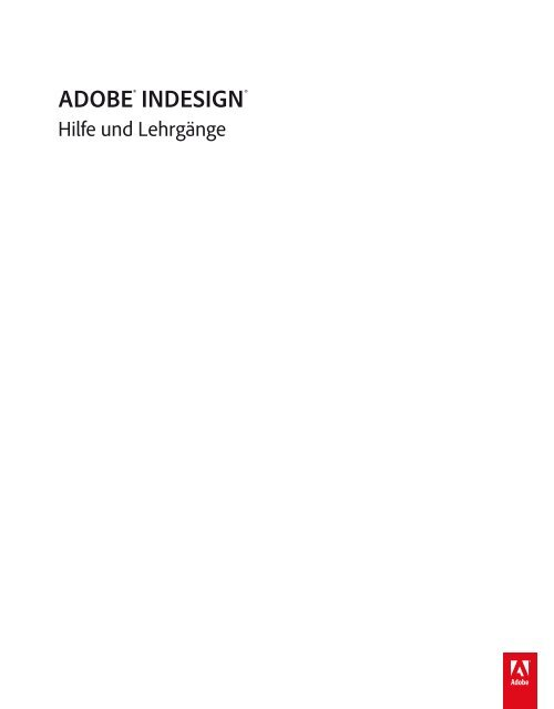 Benutzerhandbuch Adobe Indesign Cs6 Dominik Mosimann
