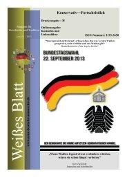 Juni Ausgabe 2013 - Neue Deutsche Monarchie eV