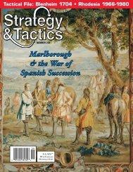 Marlborough & the War of Spanish Succession - Strategy & Tactics ...