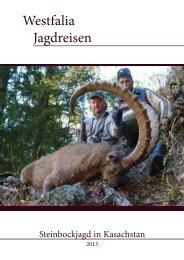 gehts zum Angebot - Westfalia Jagdreisen