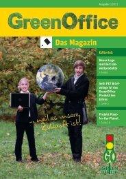 Green Office Das Magazin ( Ausgabe 1/2011) - Papier Hartmann