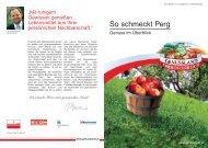 Download der Genussfibel Perg - Genussland Oberösterreich