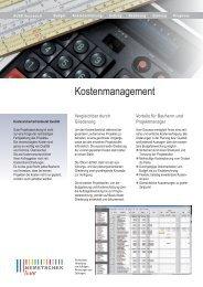 Kostenmanagement - AUER - Die Bausoftware GmbH