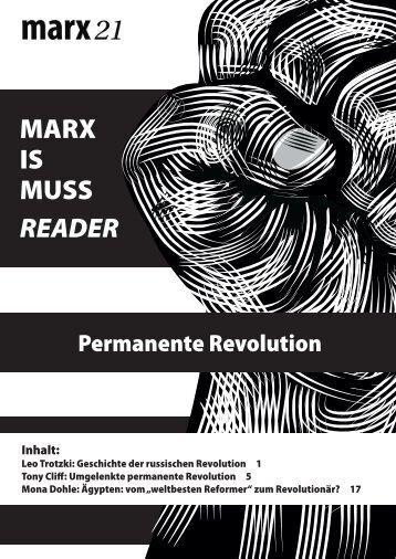 Reader Revolution (.pdf) - MARX IS MUSS 2011