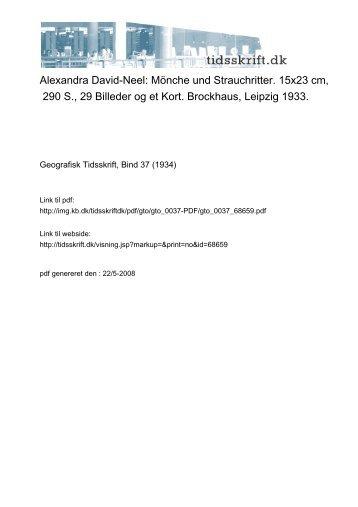 Alexandra David-Neel: Mönche und Strauchritter. 15x23 cm, 290 S ...