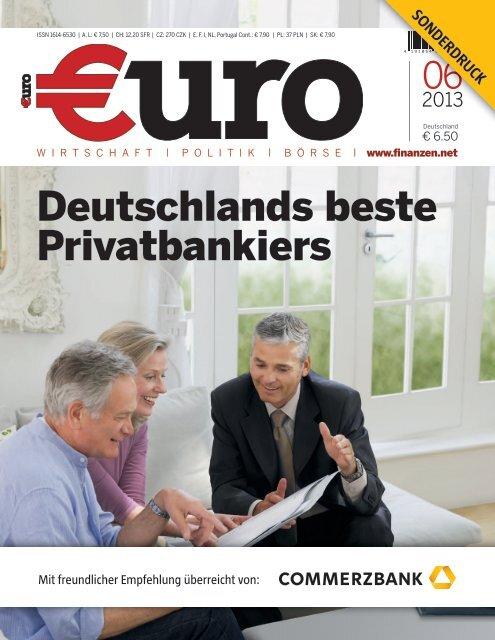 Deutschlands beste Privatbankiers - Commerzbank International SA