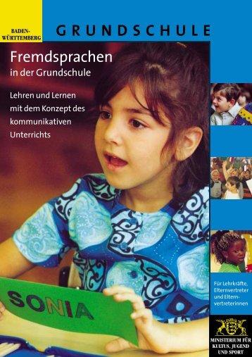 GRUNDSCHULE Fremdsprachen - (LTSC) Karlsruhe ...