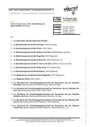 Kärntner Bauordnung 1996; Verwendung von Bauprodukten ... - OIB