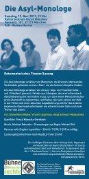 allgemeiner Programm-Flyer (PDF) - Diana Marie Müller