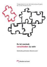Nr. 27 - Behindertenbeauftragter des Landes Niedersachsen ...