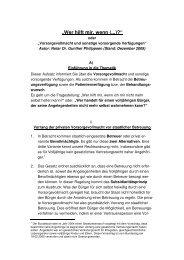 vorsorgende Verfügungen - bei Notar Dr. Philippsen in Grünstadt