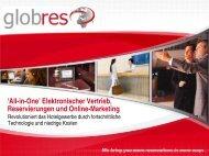 'All-in-One' Elektronischer Vertrieb, Reservierungen und Online ...
