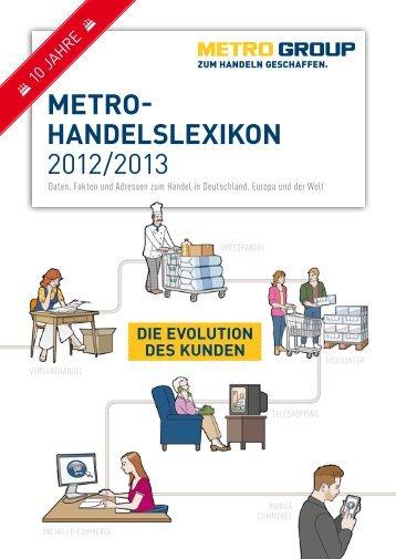 METRO- HANDELSLEXIKON 2012/2013 - Metro Group