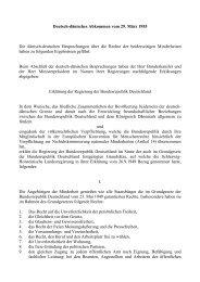 Deutsch-dänisches Abkommen vom 29